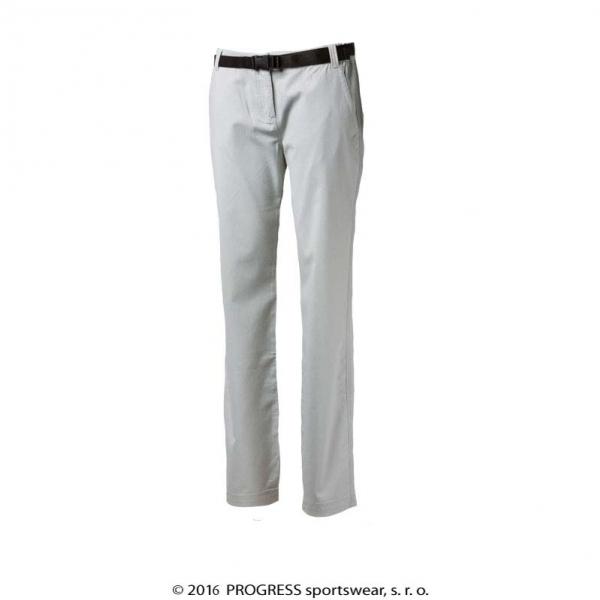 kalhoty dlouhé dámské Progress PAUSA krémové