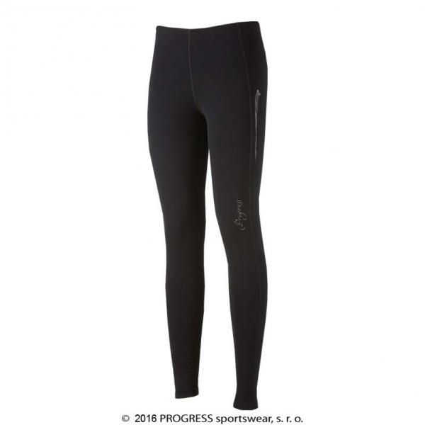 kalhoty dlouhé dámské Progress KENGURA černé