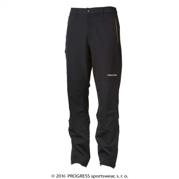 kalhoty dlouhé pánské Progress AXCESS černé