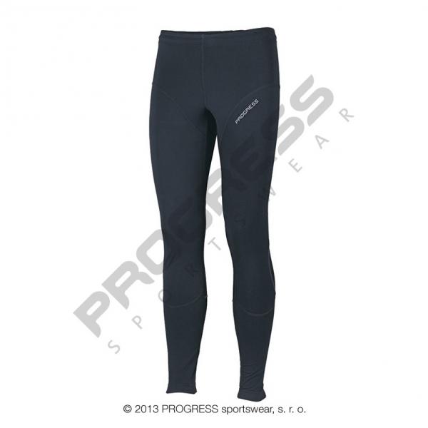 kalhoty dlouhé pánské Progress TENOR zimní černo/oranžové