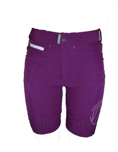 kalhoty krátké dámské HAVEN AMAZON fialové