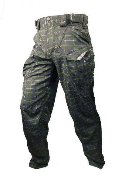 kalhoty dlouhé pánské HAVEN CUBES KINGSIZE II černo/zelené