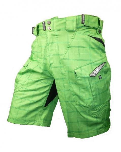 kalhoty krátké pánské HAVEN CUBES II zelené