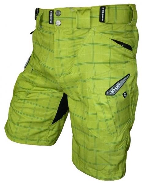 kalhoty krátké pánské HAVEN CUBES II žluté