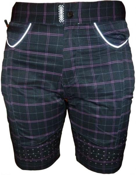 kalhoty krátké dámské HAVEN PEARL II černo/růžové