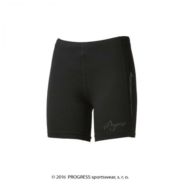 kalhoty krátké dámské Progress KENGURA shorts černé