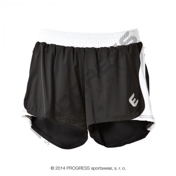 kalhoty krátké dámské Progress ALFA černé