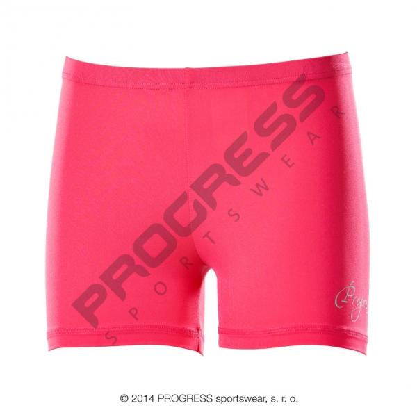 kalhoty krátké dámské Progress CORTA růžové