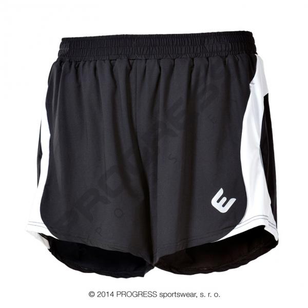 kalhoty krátké pánské Progress LOTAR černo/bílé