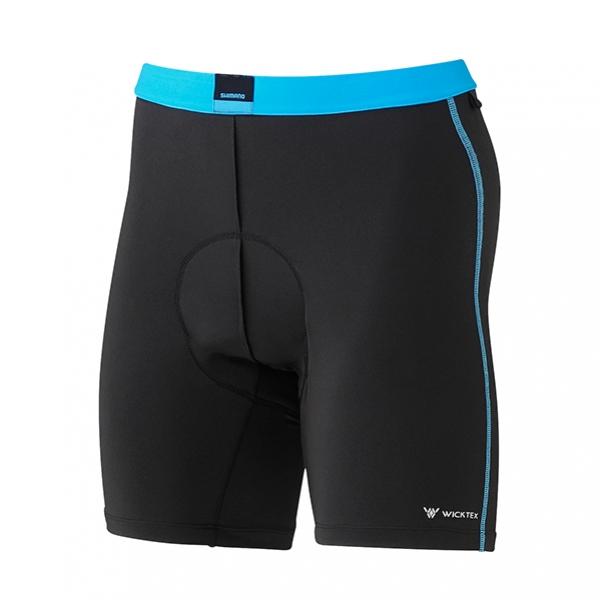 kalhoty krátké pánské Shimano Under Short černé