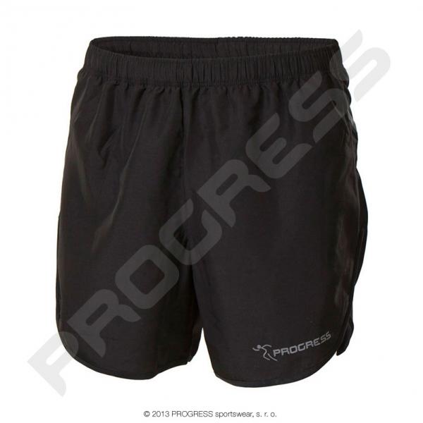 kalhoty krátké pánské Progress IRBIS černé