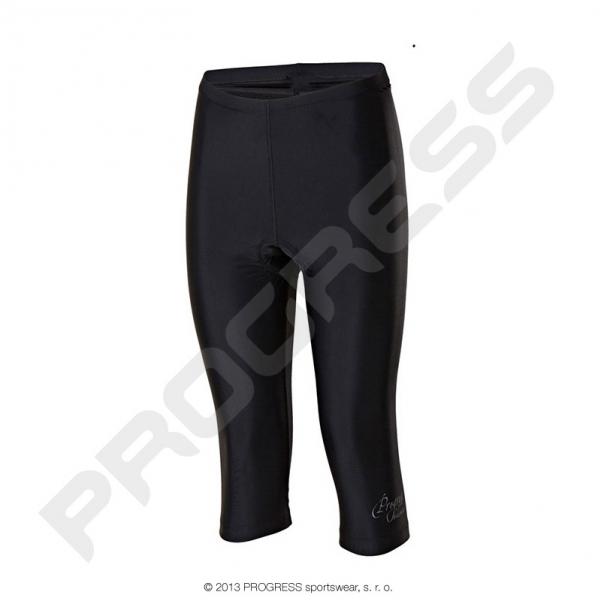 kalhoty 3/4 dámské Progress SIMPLE L 3Q černé