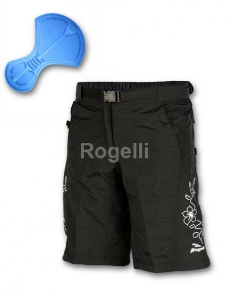 kalhoty krátké dámské Rogelli MELFI černé