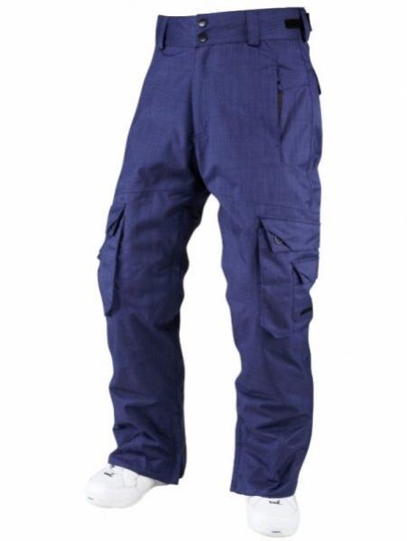 kalhoty dlouhé pánské Surfanic SNEAKY zimní tm.modré