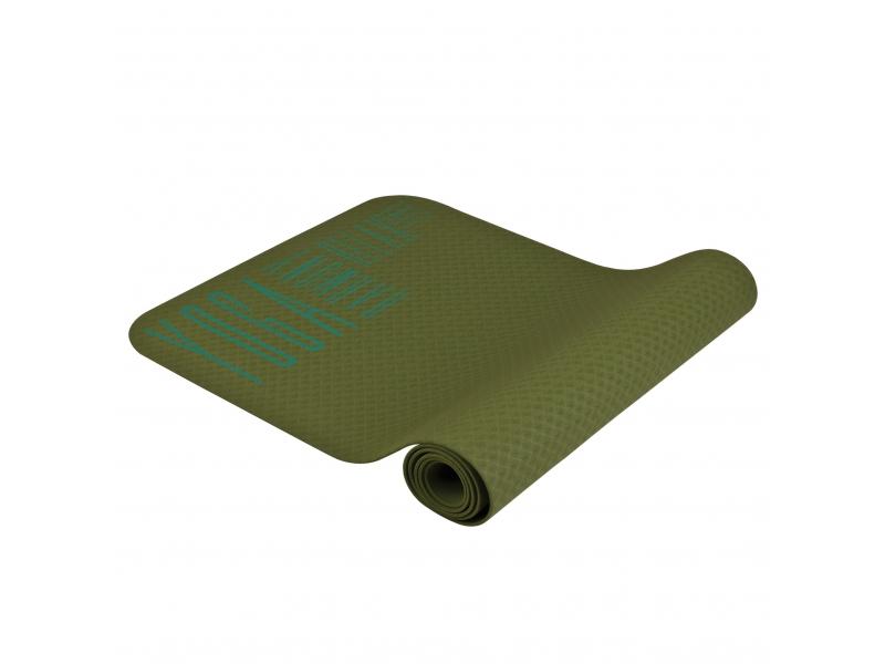 karimatka Spokey HAMSA na jógu 4mm zelená