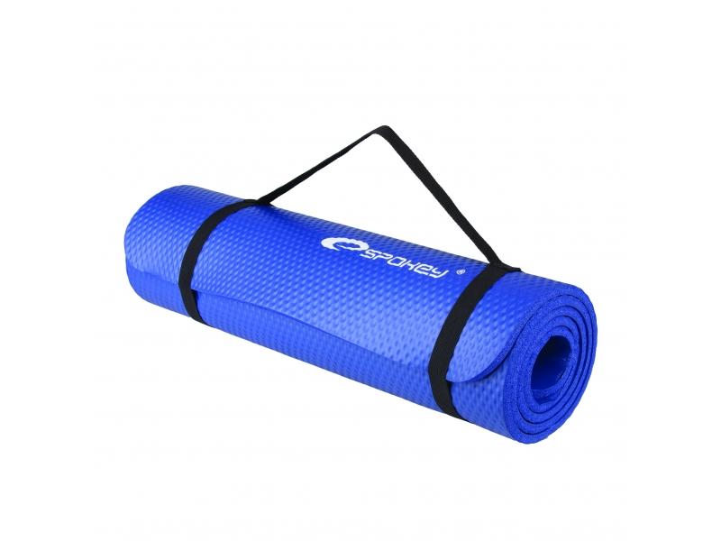 karimatka Spokey SOFTMAT na cvičení modrá