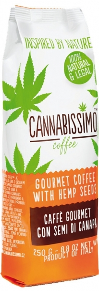 káva Fitness Coffee Cannabissimo 250g