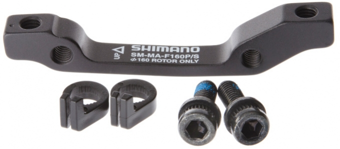 adapter kotoučové brzdy Shimano přední 160mm standard original baleni