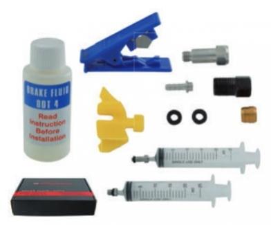 odvzdušňovací sada Promax pro hydraulické brzdy