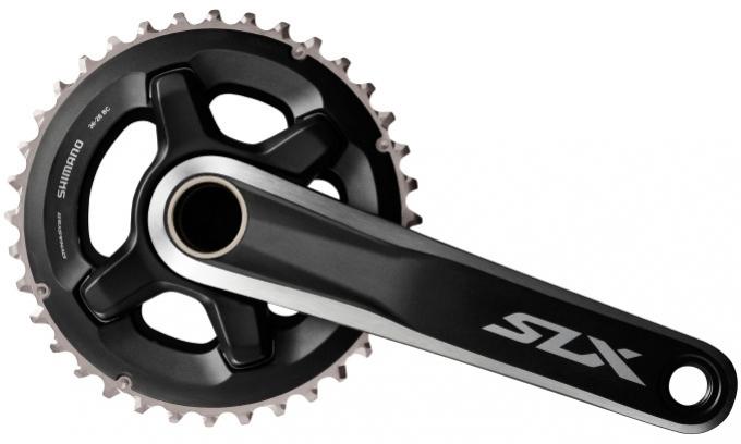 Kliky Shimano SLX FC-M7000 2x11r 36/26z 175mm černé