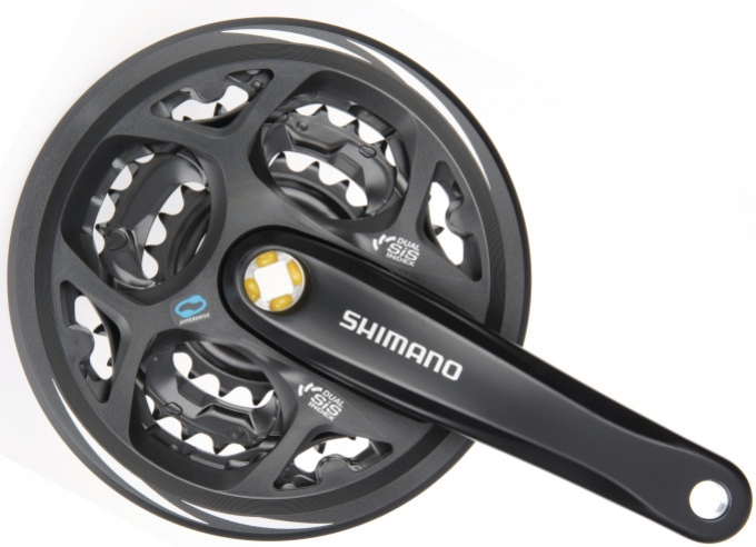kliky Shimano Acera FC-M311 3x6/7/8 42/32/22z 170mm černé servisní balení