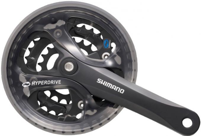 kliky Shimano Acera FC-M361 3x6/7/8 42/32/22z 175mm černé servisní balení