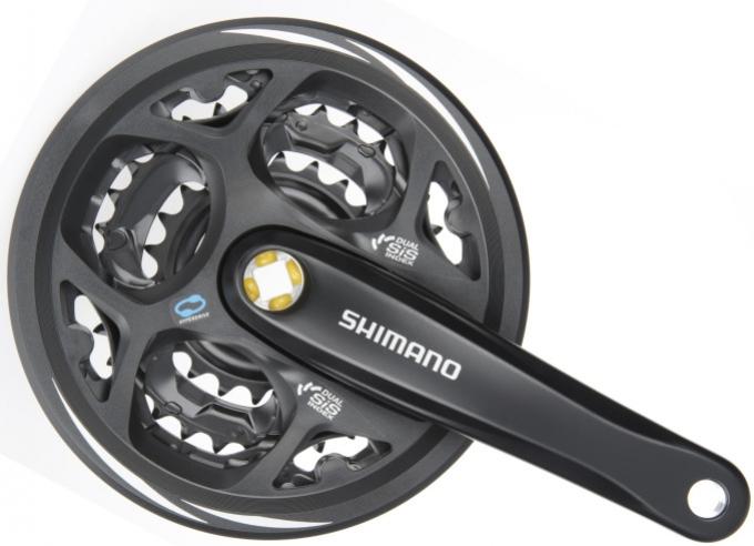 kliky Shimano Altus FC-M311 3x6/7/8 42/32/22z 175mm černé servisní balení