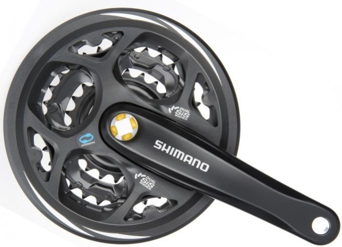 kliky Shimano Altus FC-M311 3x6/7/8 42/32/22z 175mm černé original balení