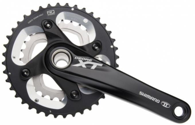 Kliky Shimano XT FC-M785 2x10 40/28z 175mm černé