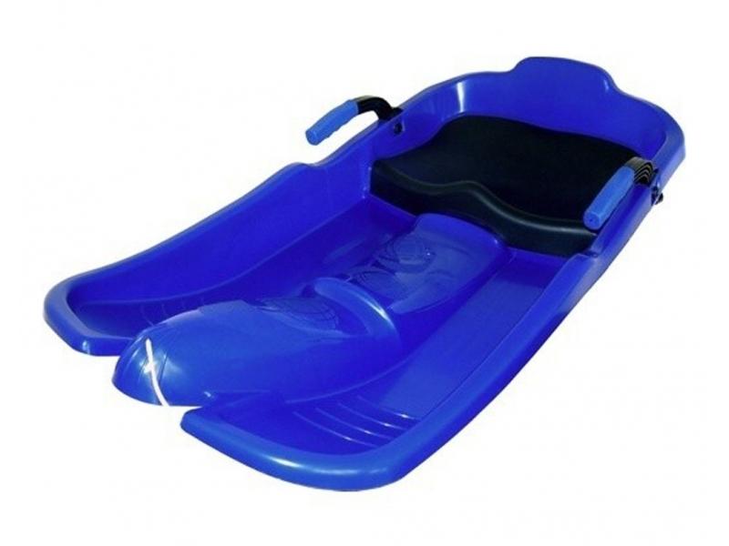 kluzák plastový Superjet modrý