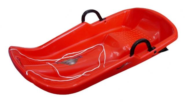 kluzák plastový Twister červený