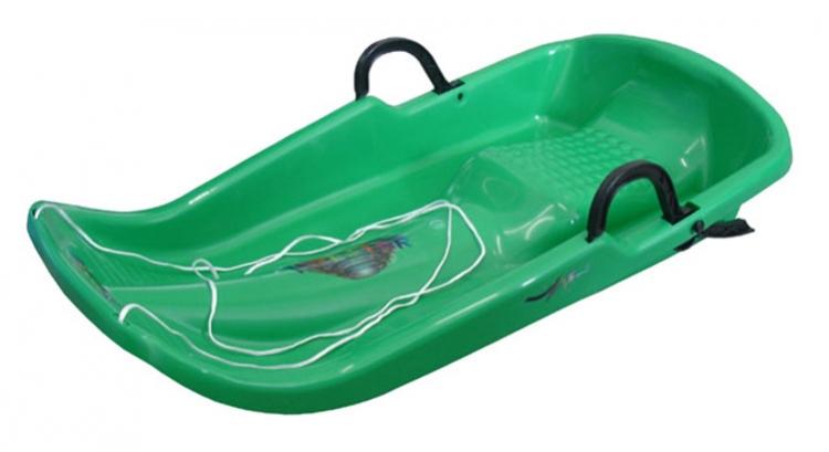 kluzák plastový Twister zelený
