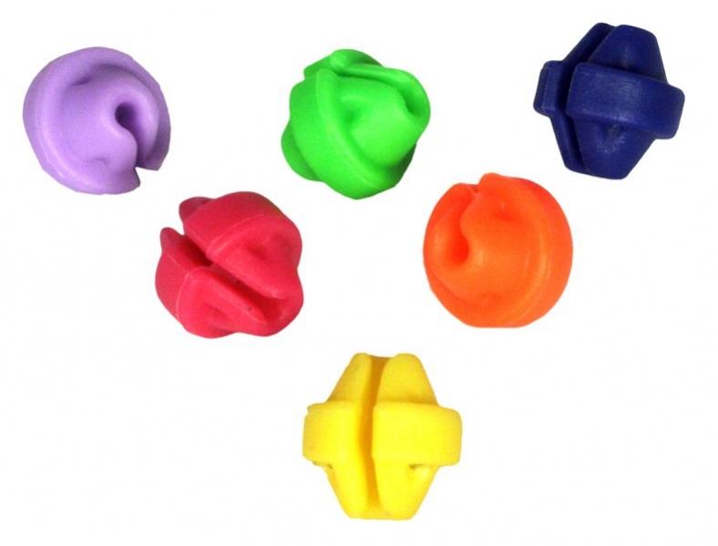 korálky na dráty barevné sada