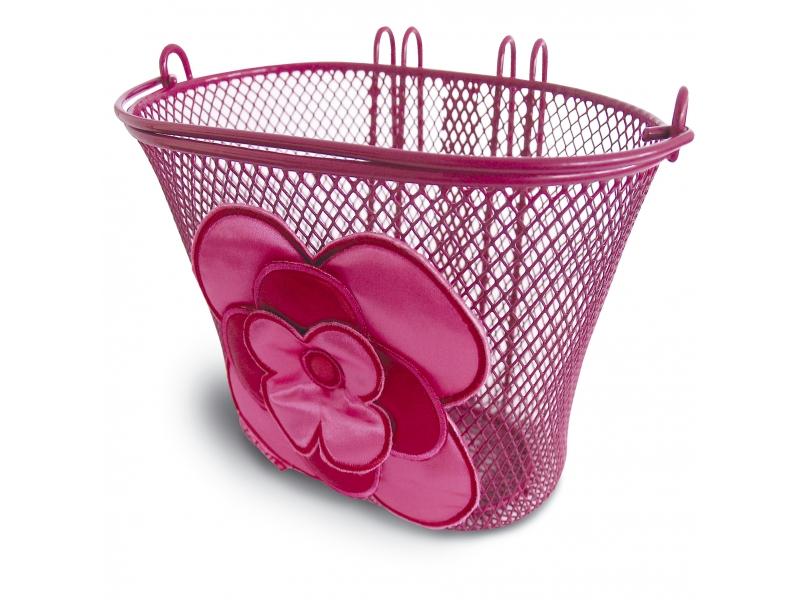 koš BASIL Jasmin Basket růžový