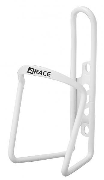 košík 4RACE Al bílý