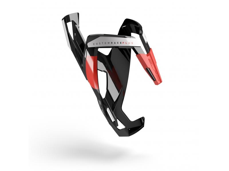 košík ELITE Custom Race Plus Black, červený graphic