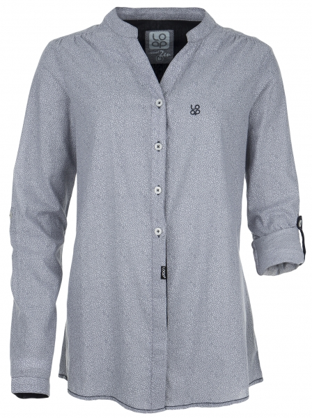 košile krátká dámská LOAP NICOLETA šedá