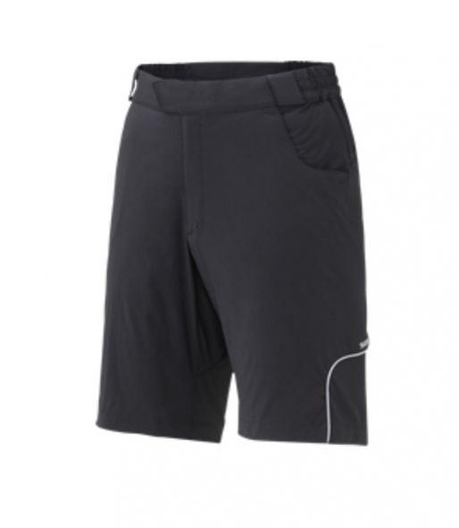 kalhoty krátké pánské Shimano Touring černé