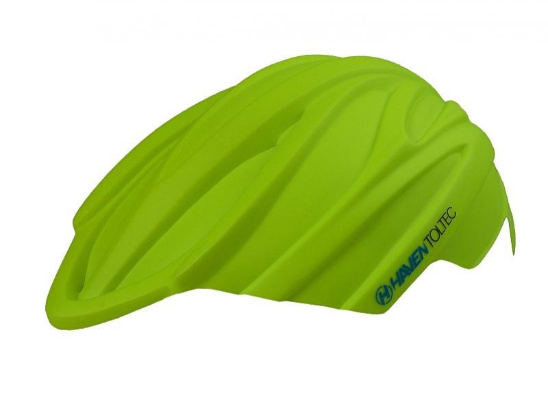kryt na přilbu Toltec Rain zelený