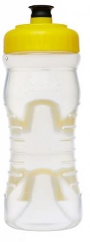 lahev FABRIC 600ml clear/žlutá