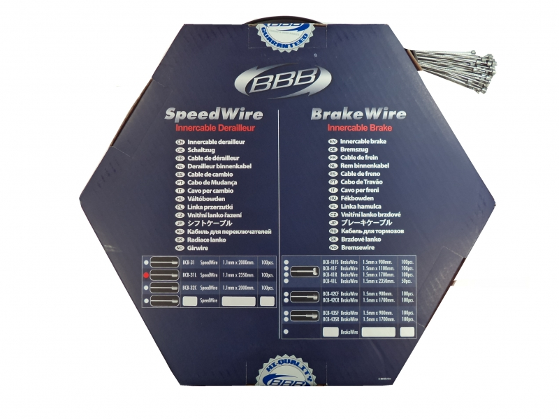 lanka BBB SpeedWire řad. 1,1x2350mm 100ks