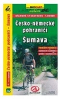 mapa cyklo Česko-Německé pohraničí, Šumava