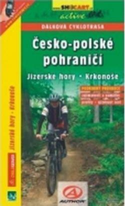 mapa cyklo Česko-Polské pohraničí