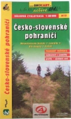 mapa cyklo Česko-Slovenské pohraničí