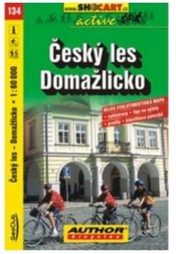 mapa cyklo Český les, Domažlicko,134