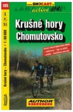 mapa cyklo Krušné hory,Chomutovsko,105