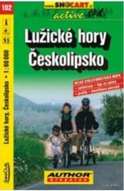 mapa cyklo Lužické hory,102