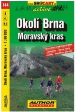 mapa cyklo Okolí Brna,Moravský Kras,144