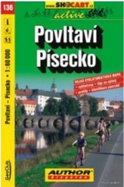 mapa cyklo Povltaví, Písecko,136