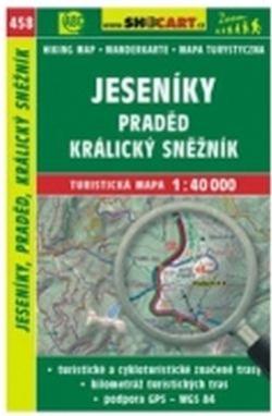 mapa cyklo-turistická Jeseníky,458